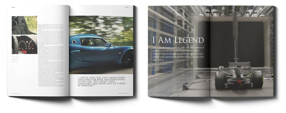 One Degree Magazine Spreads | Design By Ross Power