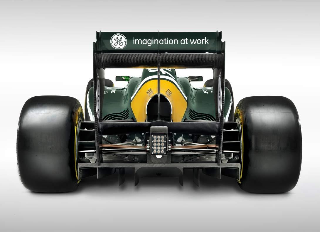 Team Lotus F1 Rear | By Ross Power